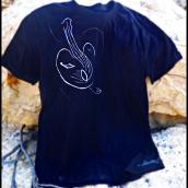 Gato-guitarra española (colección musical) 15 € (2 tintas)